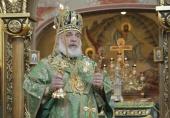 Патриаршее поздравление архиепископу Монреальскому Гавриилу с 60-летием со дня рождения