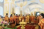 Состоялись торжества по случаю 30-летия возрождения Коневского Рождество-Богородичного монастыря