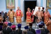 Патриарший экзарх всея Беларуси возглавил торжества в честь 30-летия обретения мощей праведного Иоанна Кормянского
