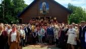 В Ровенской области освятили новый храм Украинской Православной Церкви, сооруженный вместо захваченного раскольниками