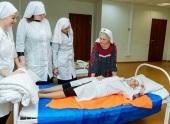 В Учебном центре больницы святителя Алексия в Москве завершились курсы по уходу за больными