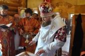 За неделю освящено девять храмов Украинской Православной Церкви