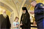 В Никольском Морском соборе в Кронштадте состоялась акция «Благословение детям погибших миротворцев»
