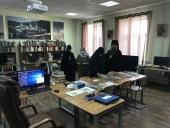 Представители Межведомственной комиссии по вопросам образования монашествующих посетили Тихвинскую епархию Санкт-Петербургской митрополии