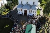 Торжества в честь обретения Великорецкого образа святителя Николая Чудотворца начались в Вятской митрополии