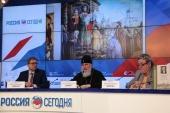 В МИА «Россия сегодня» прошла пресс-конференция «Александр Невский: история и современность в литературе»
