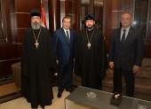 Архиепископ Владикавказский Леонид встретился с вице-спикером ливанского парламента
