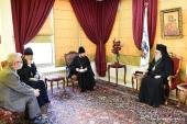 Патриарх Антиохийский Иоанн X встретился с иерархом Русской Православной Церкви