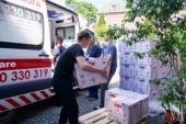 Украинская Православная Церковь продолжает помогать медикам и нуждающимся
