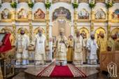 В день памяти святителя Луки Крымского Блаженнейший митрополит Киевский Онуфрий возглавил праздничное богослужение в Запорожье