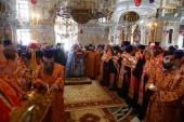 В Екатеринбурге начался крестный ход с мощами благоверного князя Александра Невского