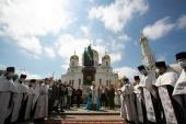 Крестный ход с мощами благоверного князя Александра Невского начался в Ростове-на-Дону
