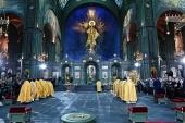 Прямая трансляция Патриаршего богослужения из главного храма Вооруженных сил Российской Федерации