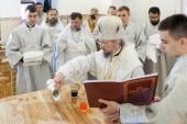 Патриарший экзарх всея Беларуси освятил храм святителя Луки, архиепископа Симферопольского, в Минске