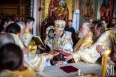 Блаженнейший митрополит Онуфрий возглавил хиротонию архимандрита Паисия (Шинкарева) во епископа Константиновского