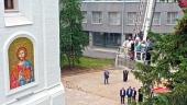 В Нижегородском кремле состоялось открытие соборной колокольни
