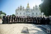 Блаженнейший митрополит Онуфрий возглавил выпускной торжественный акт в Киевских духовных школах