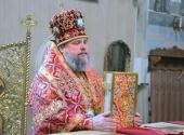 Патриаршее поздравление митрополиту Криворожскому Ефрему с 55-летием со дня рождения