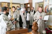 Митрополит Минский Вениамин совершил молебен в часовне на территории Республиканского научно-практического центра медицинской экспертизы и реабилитации в Минской области