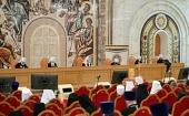 Священный Синод постановил вынести на рассмотрение Архиерейского Собора ряд проектов документов, подготовленных Межсоборным присутствием Русской Православной Церкви