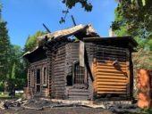 В храме Казанской иконы Божией Матери Нарвской епархии вновь произошел пожар