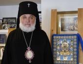 Патриаршее поздравление архиепископу Монреальскому Гавриилу с 25-летием архиерейской хиротонии