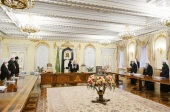 В Даниловом монастыре состоялось заседание Священного Синода Русской Православной Церкви