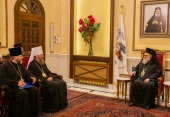 Управляющий делами Украинской Православной Церкви встретился с Патриархом Антиохийским Иоанном Х