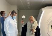 Епископ Верейский Пантелеимон освятил новый Центр лучевой диагностики больницы святителя Алексия в Москве
