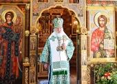 Патриаршая проповедь после Литургии в праздник Святой Троицы