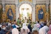 В Париже состоялись торжества по случаю престольного праздника Троицкого кафедрального собора