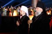 Патриарший экзарх всея Беларуси принял участие в митинге-реквиеме в Брестской крепости
