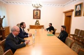 Председатель Отдела внешних церковных связей встретился с послом Королевства Нидерландов в РФ