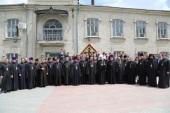 Митрополит Кишиневский и всея Молдовы Владимир возглавил выпускной акт Кишиневских духовных школ