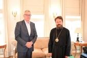 Председатель Отдела внешних церковных связей встретился с послом Австрийской Республики в Российской Федерации