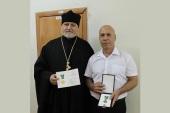 В Экибастузе вручены церковные награды врачам, особо потрудившимся в борьбе с коронавирусной инфекцией