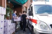 В Церкви оказывают помощь медицинским учреждениям. Информационная сводка от 4 июня 2021 года