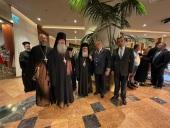Представители Русской духовной миссии в Иерусалиме приняли участие в приеме по случаю национального праздника Республики Беларусь
