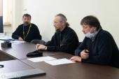 Патриарший экзарх всея Беларуси встретился со слушателями Летней школы для волонтеров по организации коммуникации с глухими и слабослышащими людьми на приходах