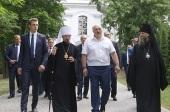 Президент Республики Беларусь посетил Успенский Жировичский монастырь