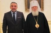 Иерарх Украинской Православной Церкви встретился с генеральным консулом Греческой Республики в Одессе