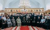 Патриарший экзарх всея Беларуси возглавил выпускные торжества в Минской духовной семинарии