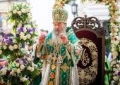Предстоятели Поместных Православных Церквей поздравили Блаженнейшего митрополита Киевского и всея Украины Онуфрия с днем тезоименитства
