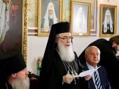 Патриарх Иерусалимский Феофил: Наше единство критически важно, ибо оно есть и плод, и свидетельство истины Божией