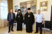 Председатель Синодального отдела по взаимодействию с Вооруженными силами и глава Архангельской митрополии обсудили духовное окормление воинов в регионе