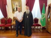 Глава Департамента Министерства внутренних дел Израиля по делам христианских общин посетил Русскую духовную миссию в Иерусалиме