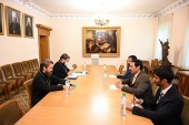 Председатель Отдела внешних церковных связей встретился с послом Катара в России