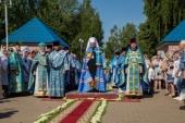 Патриарший экзарх всея Беларуси возглавил торжества в честь 20-летия обретения Марьиногорской иконы Божией Матери