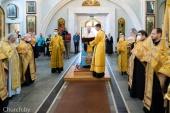 В День независимости Республики Беларусь митрополит Минский Вениамин совершил молебен всем белорусским святым