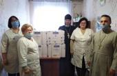 Епархии Украинской Православной Церкви продолжают помогать медикам и нуждающимся